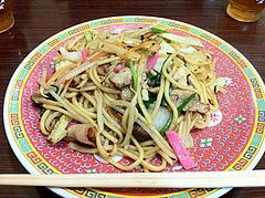 ランチ:皿うどん600円@中華万里・長浜鮮魚市場会館・福岡