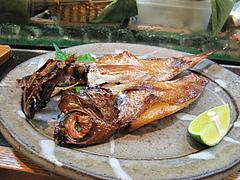 料理:金目鯛の一夜干し@すし嘉美(よしみ)・天神