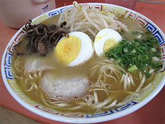 料理:もやしラーメン600円@博龍軒・博多区馬出九大病院前
