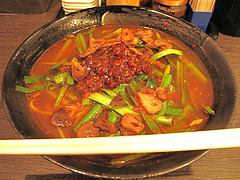 料理:肉ニラそば650円@中華そば鶴と亀