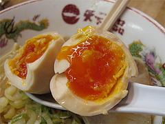 料理:天一の味付玉子100円@天下一品・博多駅前店