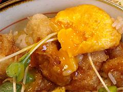 とり天親子丼アップ@うどん屋『麺やほり野』