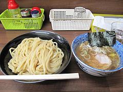 8ランチ:つけ麺・中盛800円@つけめん・咲きまさ・春吉