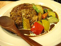 ランチ:野菜どっさりカレー790円@完熟野菜の大自然CURRY(カレー)・西新商店街