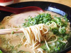 9トンコツラーメン麺@金太郎ラーメン