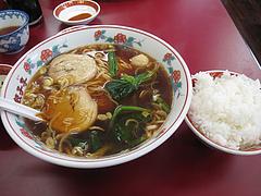 10ランチ:拉麺定食680円@中華・餃子李・薬院