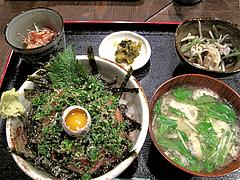 料理:ごまさば丼定食700円@海の味・有福・サンセルコ
