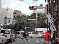 2外観:国体道路を望む@ラーメン屋・鳳凛(ほうりん)・春吉