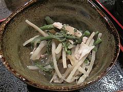 料理:小鉢の山菜煮びたし@海の味・有福・サンセルコ