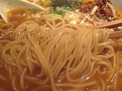 12ランチ:赤担々麺メン@AKAMARU食堂・電気ビル・渡辺通