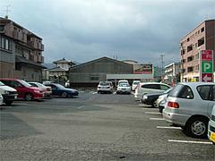 広い駐車場@あしずり定食センター