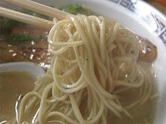 料理:ラーメン麺@長浜ラーメン・じろう・西新