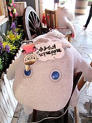 外観:ムーミンカフェのムーミン干し@キャナルシティ博多・福岡