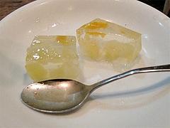 料理:女性にサービスの一口デザート@博多一風堂・塩原本舗・福岡