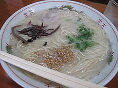 料理:ラーメン450円@ラーメン肥後屋・小郡