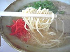 基本のラーメン麺@一壺天(いっこてん)・福岡県筑紫野市
