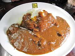 料理:半熟玉子カレー700円6辛@カレー倶楽部ルウ