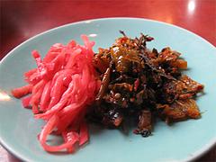 12ランチ:紅しょうがと辛子高菜@ラーメン博多荘・中州