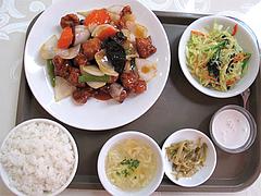 料理:日替わり定食・酢豚@点心楼・台北・薬院店