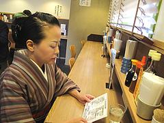 6店内:カウンター@わっぱ定食堂・天神・今泉