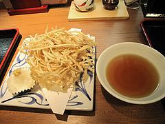 7ランチ:細切りごぼう天ぷら@讃岐うどん薫(かおる)