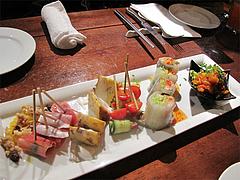 5パーティー:前菜タパス@オリエンタルレストラン・サラマンジェ・キャナルシティ博多