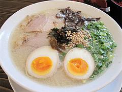 料理:煮玉らーめん600円@らぁめん39番地・大橋