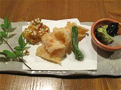 料理:おまかせコース4揚げ物@博多一梅(ひとばい)