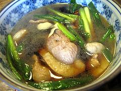 料理:鴨せいろのつけ汁@そば処・照月庵・福岡