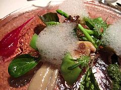 フレンチ:オマール海老の冷製・ソース添えアップ@ラ・ターブル・ド・プロヴァンス・赤坂