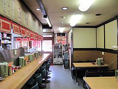 店内:テーブル席@赤のれん節ちゃんラーメン住吉店