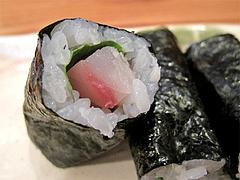 料理:細巻きのしそさばアップ@四方平・北九州小倉