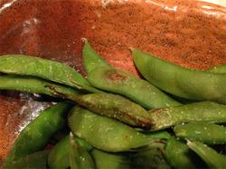 15黒豆枝豆の焼き@六ヶ城(ろっかんじょう)