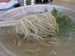 ランチ:らーめん麺@ラーメン・長浜ナンバーワン祇園店
