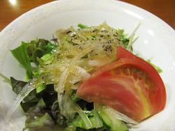 9セットのサラダ@カレー本舗博多本店