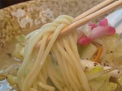 料理:ちゃんぽんの麺@博多ちゃんぽん・つけ麺・ちょき・六本松