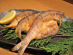 12料理:鮎の唐揚げ@居酒屋なごみ・八女の鮎と燻製料理の店・美野島