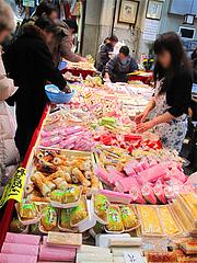 かまぼこ・おせち材料@年末の柳橋連合市場・福岡2010