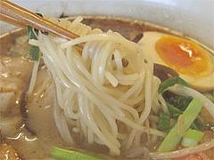 料理:黒らぁめん麺@一龍・福岡県春日市