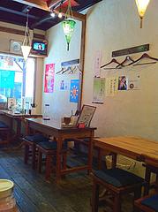 店内:テーブル席@大橋・タイ料理・オシャ