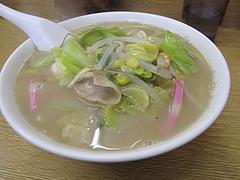 料理:チャンポン600円@中華麺家・王福園・井尻