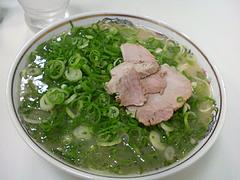 料理:ネギラーメン450円@元祖長浜ラーメンぶんりゅう