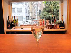 4料理:泡・ジュリエット・シュニュ(Juliette Chenu)@バー・Yumekichi Wine(ユメキチワイン)