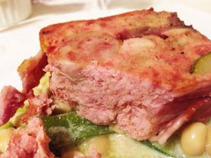 11お肉のテリーヌポワレ@テリーヌ食堂