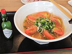 塩トマト麺730円@麺's ら・ぱしゃ・那珂川店