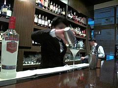 6店内:カクテル作り@モモタバー(百田バー)・大名