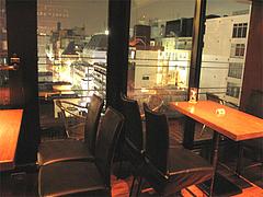 5店内:テーブル席@オスカー・バー・大名