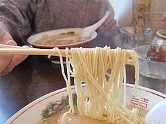 料理:ラーメン麺@嘘の三八・ベイサイドプレイス博多