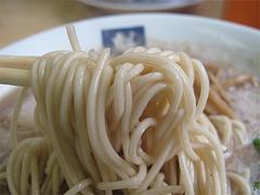 料理:ラーメン麺@ラーメン魁龍(かいりゅう)博多本店
