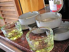 店内:灰皿@らーめん・麺屋・遊楽